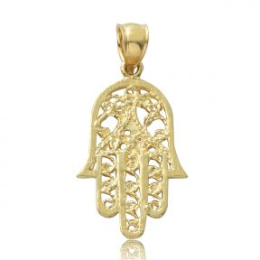 0.93 x 0.66 shaped Virgin Mary of Gualalupe Charm With 19 CZ Stones LoveBling 14K Yellow Gold Tri-Tone Oval